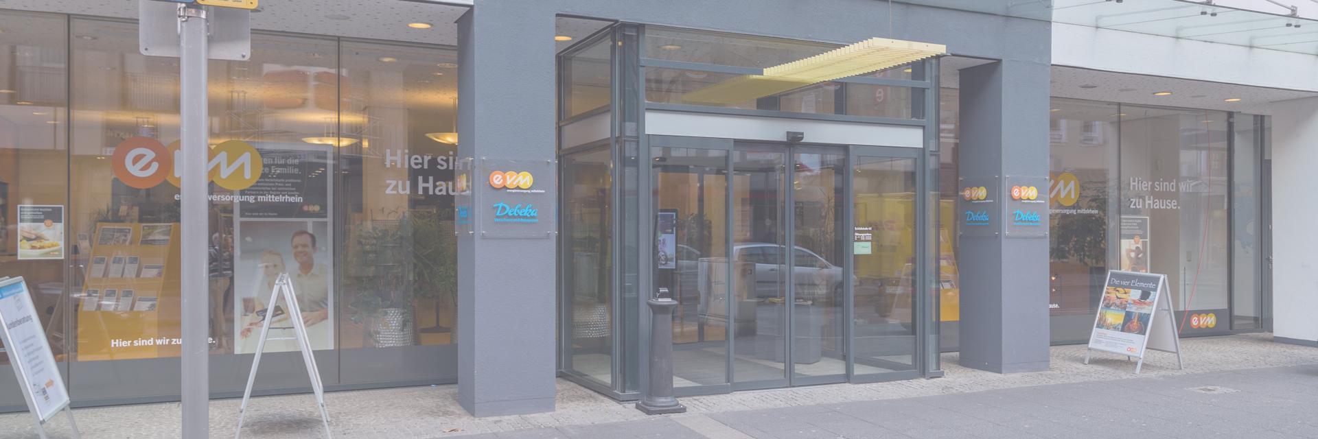Kundenzentrum Der Evm Schlossstrasse Koblenz